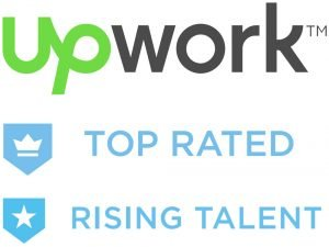 Upwork Top Rated Rising Talent