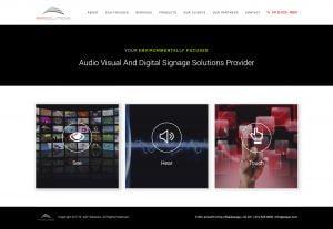 Digital Signage Website Design
