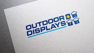 logo design outdoor media displays