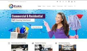 web design eura cleaning services