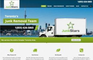 web design junk removal services