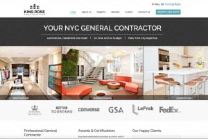 web design construction company