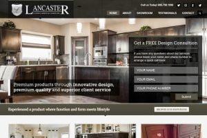 web design custom cabinets and closets