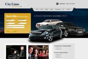 web design limousine industry