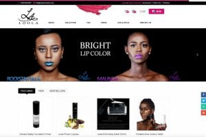 web design cosmetics ecommerce