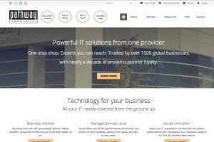web development pathway communications