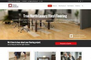 web design vinyl flooring