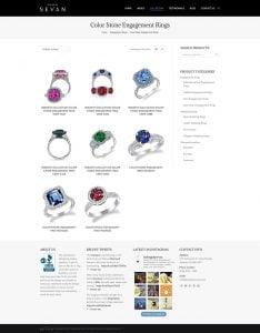 website jewellery catalogue