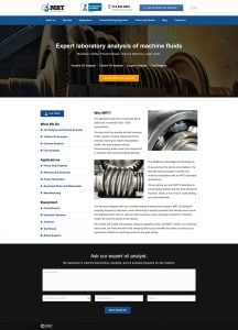 Fluid Analysis Website