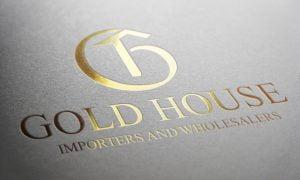 gold house logo portfolio