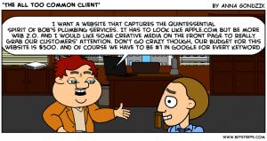 Web Designs Unrealistic Expectations