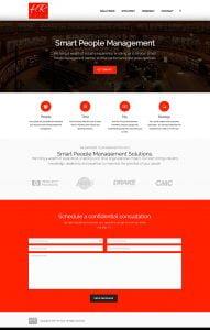 web design hr tech