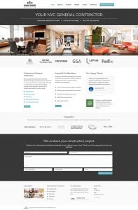 web design construction company