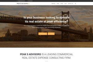 web design portfolio peak 5