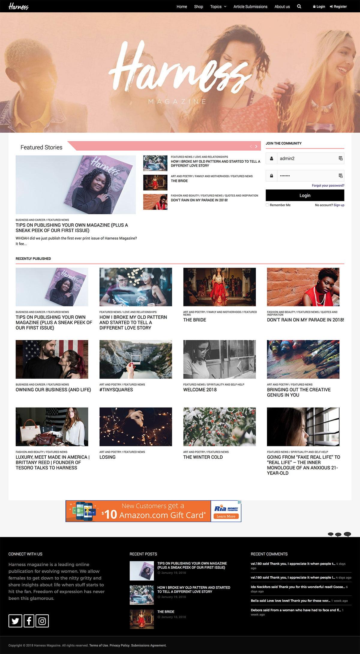 web-design-portfolio-harness2