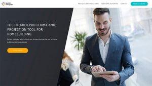 web design portfolio builder navigator
