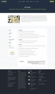 web design portfolio sodales solutions 2