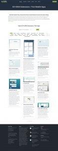 web design portfolio sodales solutions 3