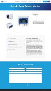 web design nitrogen gas company
