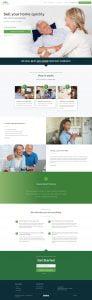 Real estate investment web design