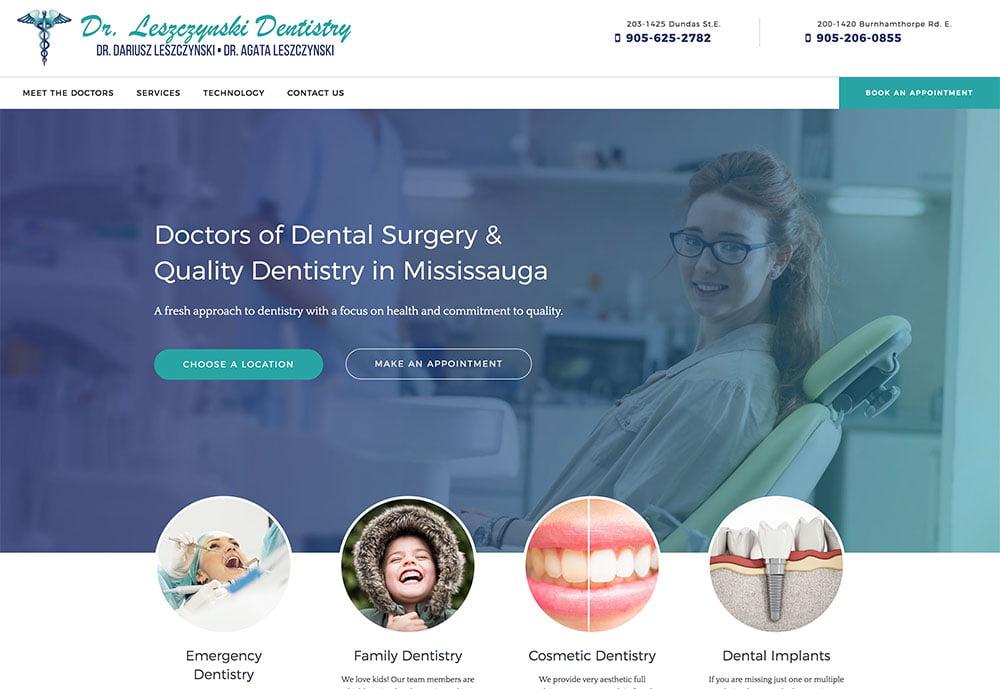 web-design-portfolio-dr-lesz