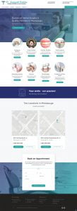 dentist web design