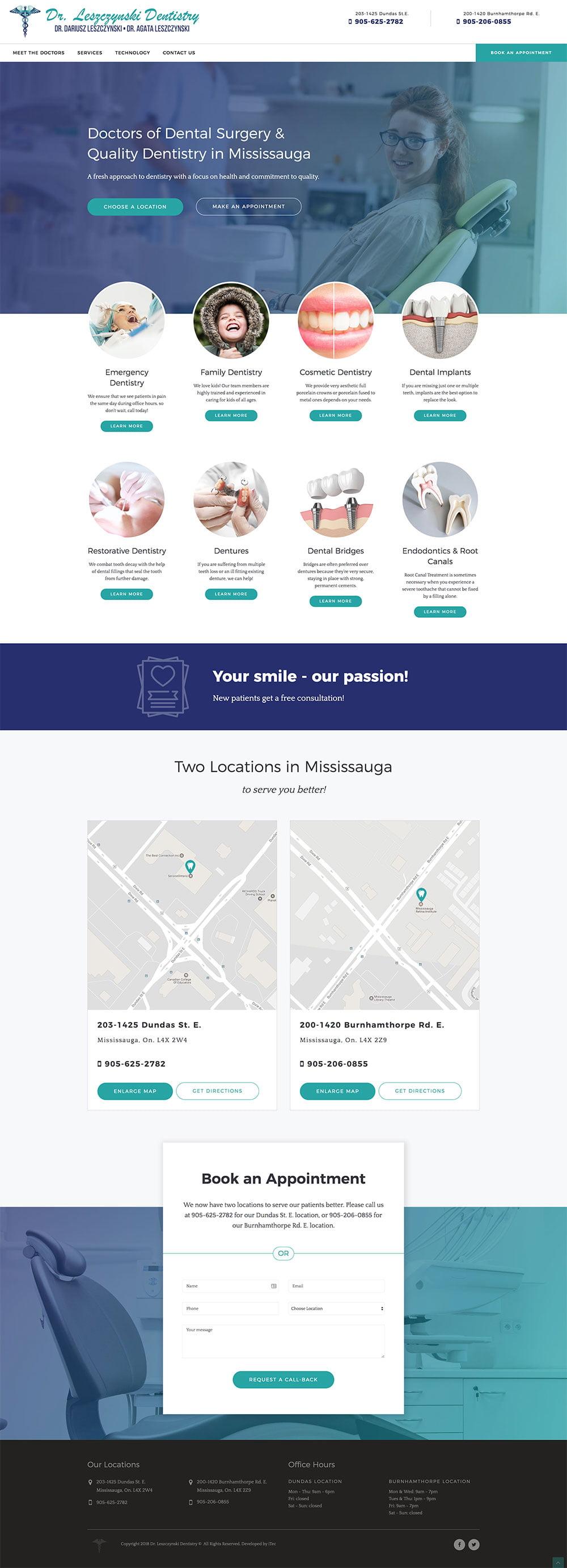 web-design-portfolio-dr-lesz1