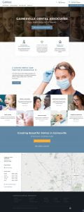 web design dental practice