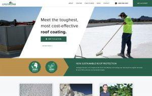 web design roofing