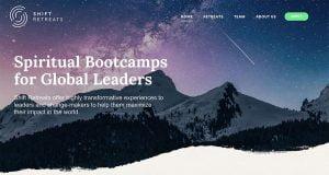 shift retreats portfolio