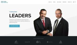 web design portfolio item consulting website